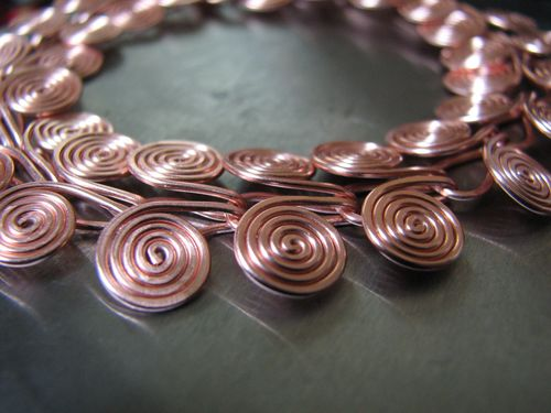 Second Bracelet, Real Copper, for Mom